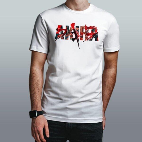 camiseta akira branca