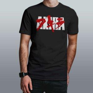 camiseta akira preta