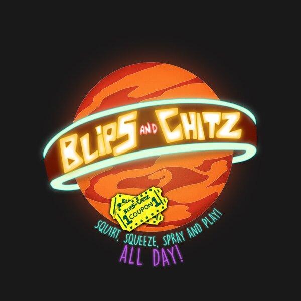 camiseta blips and chitz e