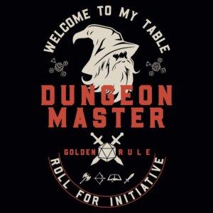 camiseta dungeon master e