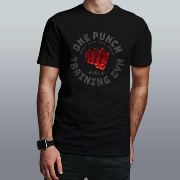 camiseta one punch gym
