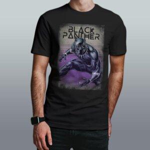 camiseta pantera negra
