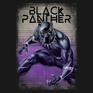 camiseta pantera negra e