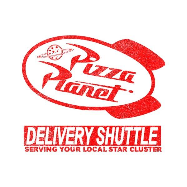camiseta pizza planet e