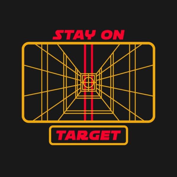 camiseta stay on target e
