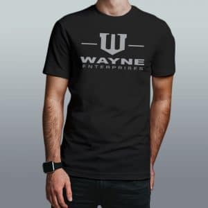 camiseta wayne enterprises